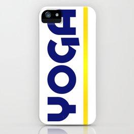 YOGA - Blu iPhone Case