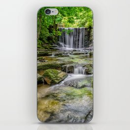 Clywedog Waterfall iPhone Skin