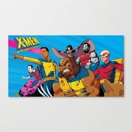 X-Men The Next Generation Canvas Print