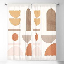 Minimal Geometric 131 Blackout Curtain