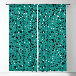 Speckled Emerald Blackout Curtain