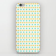 Small sunny squares iPhone & iPod Skin