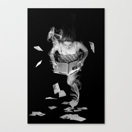 The Human Solution Canvas Print