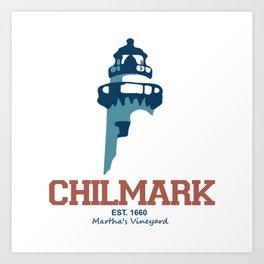 Martha's Vineyard, Chilmark Art Print