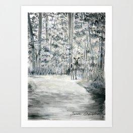 Follow Me by Teresa Thompson Art Print