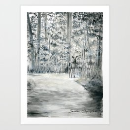 Follow Me by Teresa Thompson Art Print