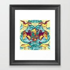 Unicorns Warriors Unicorns Framed Art Print