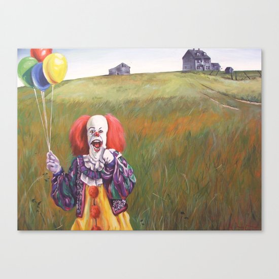 Pennywise's World Canvas Print