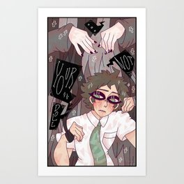Hinata Hajime Art Print