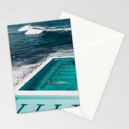 Bondi Icebergs Club I art print Stationery Cards