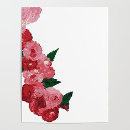 Flowers in the midst of summer Poster