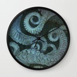 Octopus 2 Wall Clock