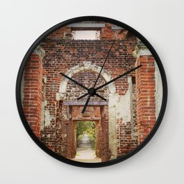 Mansion Hallway Wall Clock
