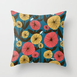 Memories of summer Throw Pillow