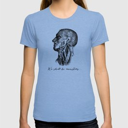Frankenstein - Mary Shelley - We Shall Be Monsters T-shirt