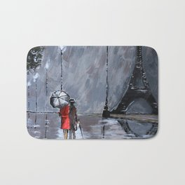 Date Night in Paris. No.2 Bath Mat