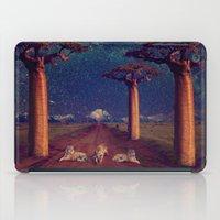 battlestar galactica iPad Cases featuring Tiger Galactica  by Jordan Eppinette