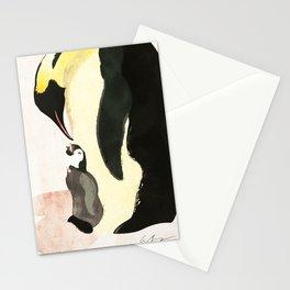 Penguin Cuddle Stationery Cards