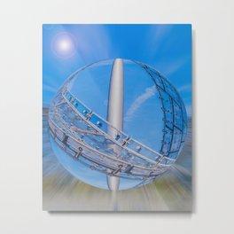 Munich  roof of  Olympic stadium Metal Print