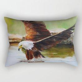 African Fish Eagle Rectangular Pillow