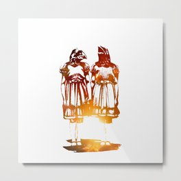 The gatekeepers to the dream.  Metal Print