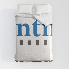 Plane Tees - Continental Airlines Comforters