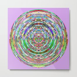 Abstract Mandala 944 Metal Print