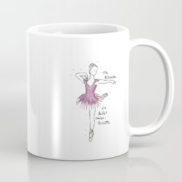 Nutcracker Ballerina Coffee Mug