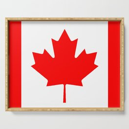 Canadian Flag Serving Tray
