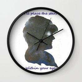 Goblin King's Love Song Wall Clock