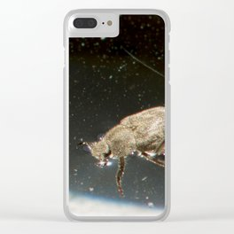 Space Beetle Clear iPhone Case