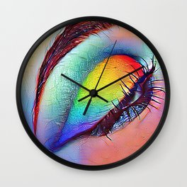 On Art Form to Another Wall Clock