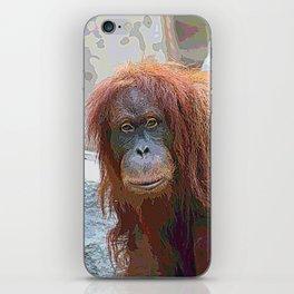 AnimalPaint_OrangUtan_20171201_by_JAMColors iPhone Skin