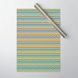 Retro Wave Wrapping Paper