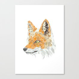GeoFox Canvas Print