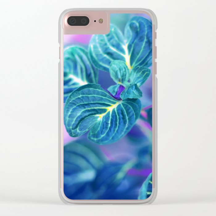 Ocean Veins Clear iPhone Case