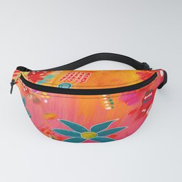 Yellow Delight Fanny Pack