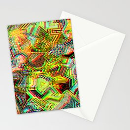 STEREOSCOPIC-ISH 1990's Stationery Cards