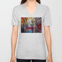 Tree Alley Colors Unisex V-Neck