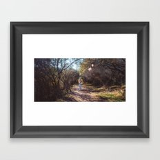 Float away Framed Art Print