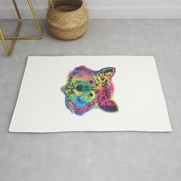 Racoon Colorful Rug