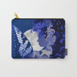 The Butterfly Maker's Moon Carry-All Pouch