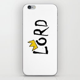 L.O.R.D. logo iPhone & iPod Skin