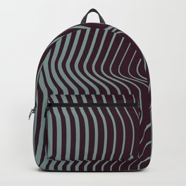 OpArt WaveLines 1 Backpack