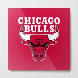 Chicago Bull Metal Print