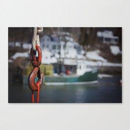 Hooked I Canvas Print