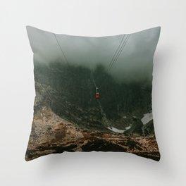 Ropeway Throw Pillow