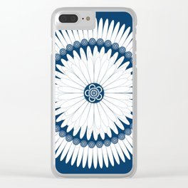 Botanical Ornament Clear iPhone Case
