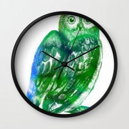 Eule | Owl Wall Clock