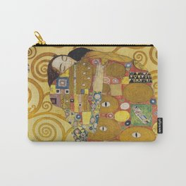 The Embrace - Gustav Klimt Carry-All Pouch